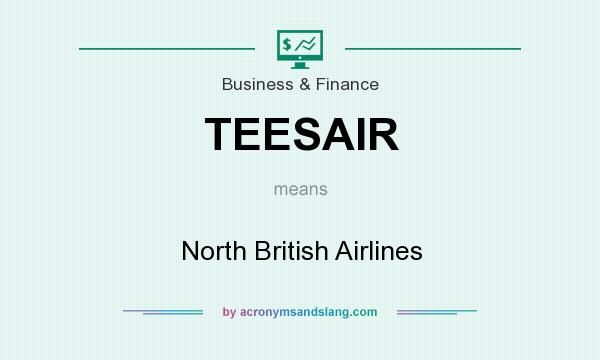 What does TEESAIR mean? It stands for North British Airlines