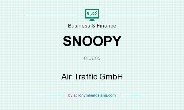 What does SNOOPY mean? It stands for Air Traffic GmbH