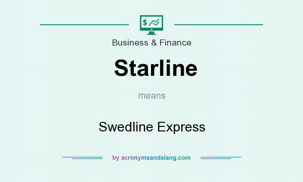 What does Starline mean? It stands for Swedline Express