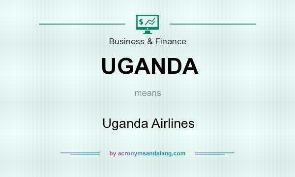 What does UGANDA mean? It stands for Uganda Airlines