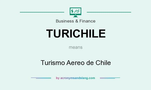 What does TURICHILE mean? It stands for Turismo Aereo de Chile