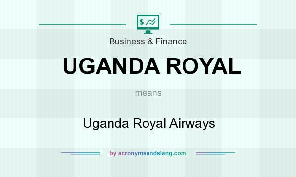 What does UGANDA ROYAL mean? It stands for Uganda Royal Airways