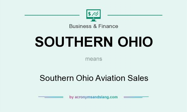 What does SOUTHERN OHIO mean? It stands for Southern Ohio Aviation Sales