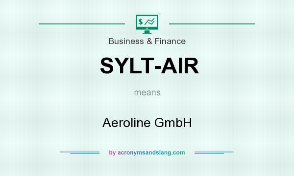 What does SYLT-AIR mean? It stands for Aeroline GmbH
