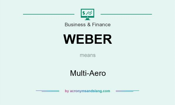 What does WEBER mean? It stands for Multi-Aero