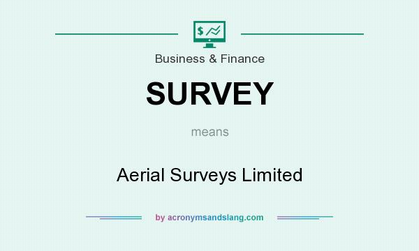 What does SURVEY mean? It stands for Aerial Surveys Limited