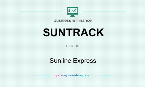 What does SUNTRACK mean? It stands for Sunline Express