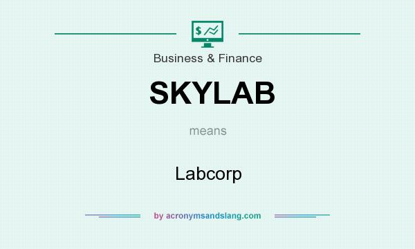 What does SKYLAB mean? It stands for Labcorp
