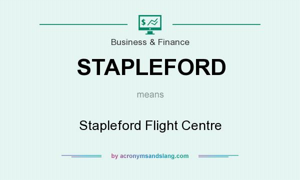 What does STAPLEFORD mean? It stands for Stapleford Flight Centre