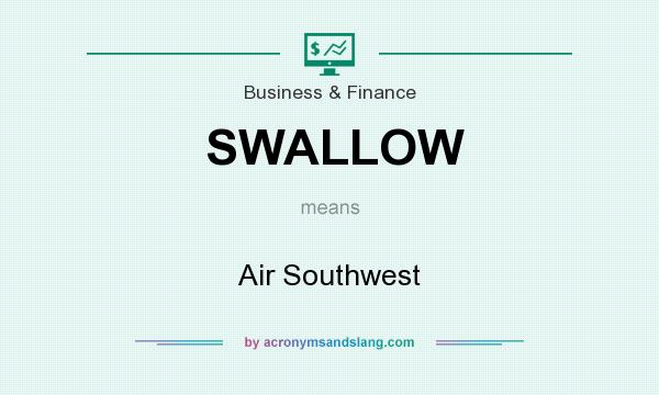 What does SWALLOW mean? It stands for Air Southwest