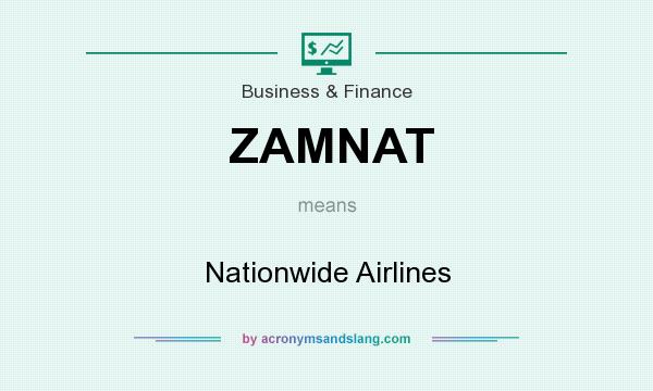 What does ZAMNAT mean? It stands for Nationwide Airlines