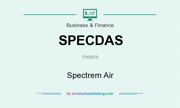 What does SPECDAS mean? It stands for Spectrem Air