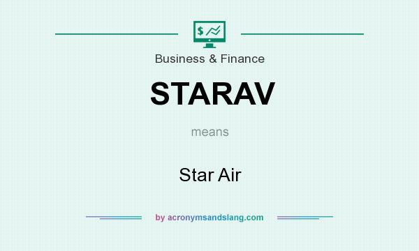 What does STARAV mean? It stands for Star Air