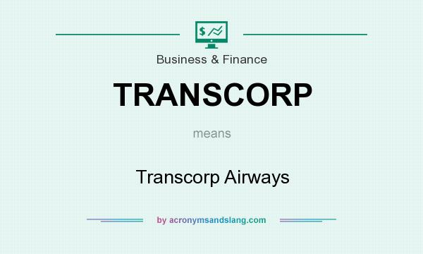 What does TRANSCORP mean? It stands for Transcorp Airways