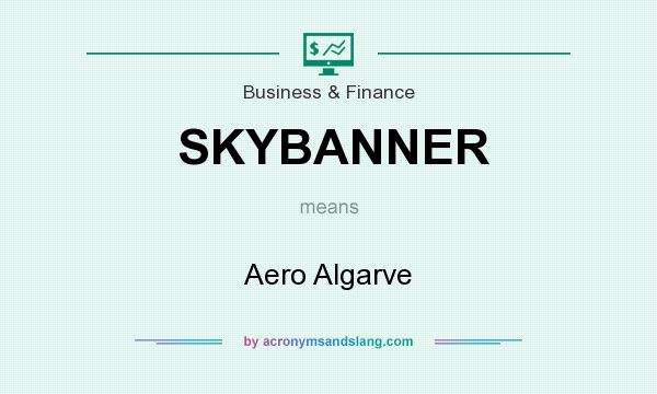 What does SKYBANNER mean? It stands for Aero Algarve