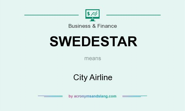 What does SWEDESTAR mean? It stands for City Airline