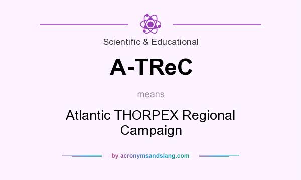 What does A-TReC mean? It stands for Atlantic THORPEX Regional Campaign