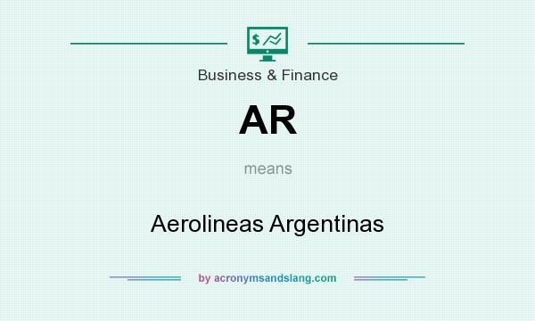 What does AR mean? It stands for Aerolineas Argentinas