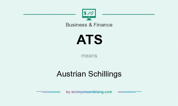 What does ATS mean? It stands for Austrian Schillings
