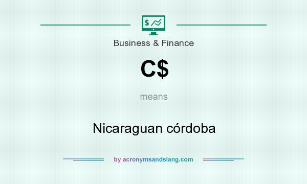What does C$ mean? It stands for Nicaraguan córdoba