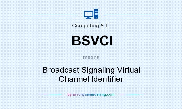 What does BSVCI mean? It stands for Broadcast Signaling Virtual Channel Identifier