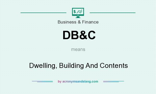 What does DB&C mean? It stands for Dwelling, Building And Contents