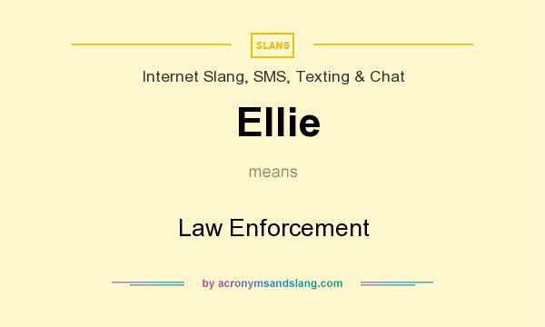 what does ellie stand for