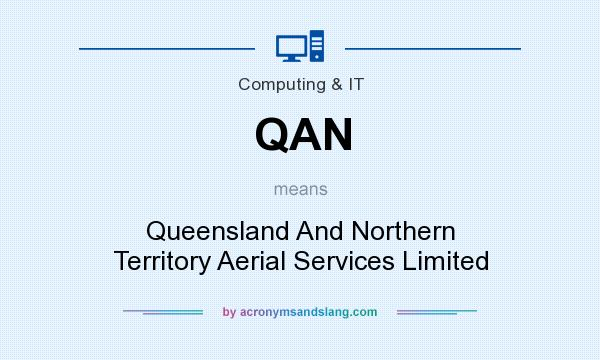 What does QAN mean? It stands for Queensland And Northern Territory Aerial Services Limited