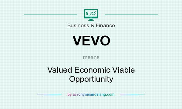 VEVO - Valued Economic Viable Opportiunity in Business