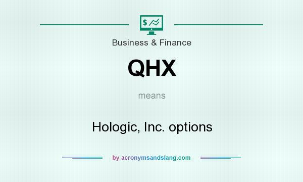 What does QHX mean? It stands for Hologic, Inc. options