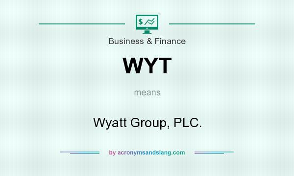 What does WYT mean? It stands for Wyatt Group, PLC.