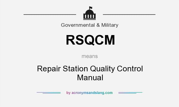 what does rsqcm mean definition of rsqcm rsqcm stands for rh acronymsandslang com ASME Quality Control Manual ASME Quality Control Manual