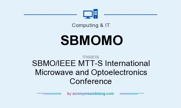 What does sbmomo mean definition of sbmomo sbmomo for Ieee definition