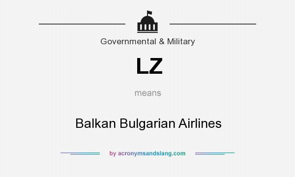 What does LZ mean? It stands for Balkan Bulgarian Airlines