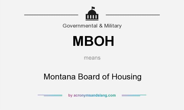 Mboh Montana Board Of Housing In Government Military By