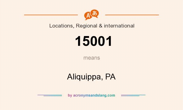 What does 15001 mean? - Definition of 15001 - 15001 stands ...
