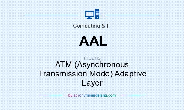What does AAL mean? It stands for ATM (Asynchronous Transmission Mode) Adaptive Layer