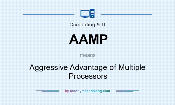 What does AAMP mean? It stands for Aggressive Advantage of Multiple Processors