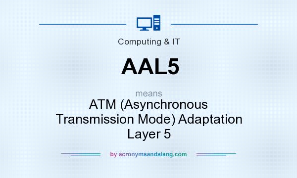 What does AAL5 mean? It stands for ATM (Asynchronous Transmission Mode) Adaptation Layer 5