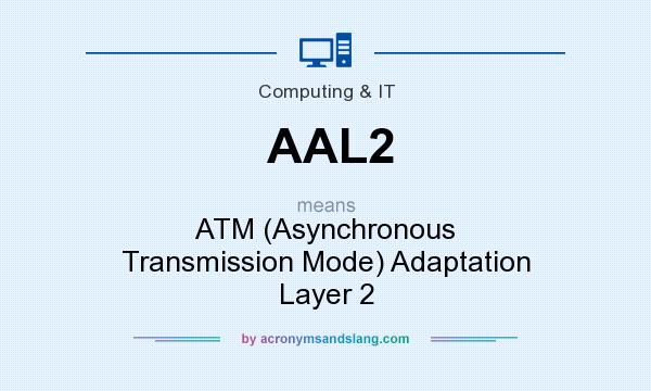 What does AAL2 mean? It stands for ATM (Asynchronous Transmission Mode) Adaptation Layer 2
