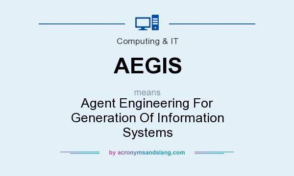 What does AEGIS mean? It stands for Agent Engineering For Generation Of Information Systems