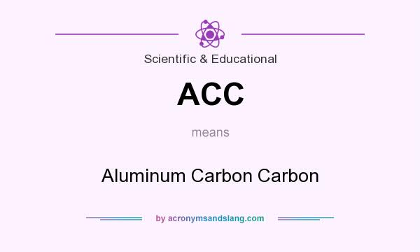 What does ACC mean? It stands for Aluminum Carbon Carbon