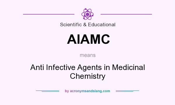 What does AIAMC mean? It stands for Anti Infective Agents in Medicinal Chemistry