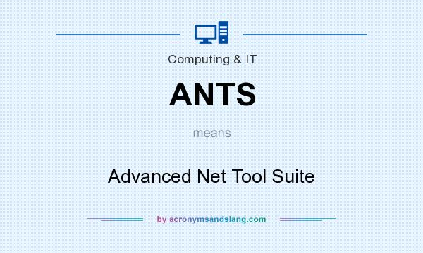 What does ANTS mean? It stands for Advanced Net Tool Suite