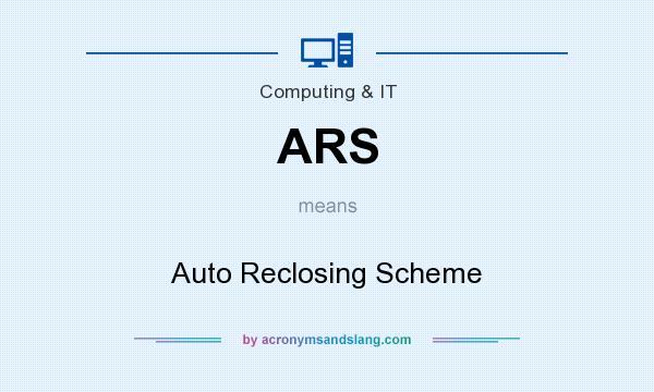 Ars Auto Reclosing Scheme In
