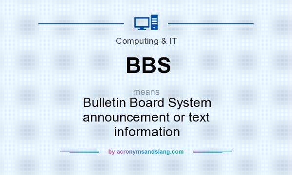 what does bbs mean in text