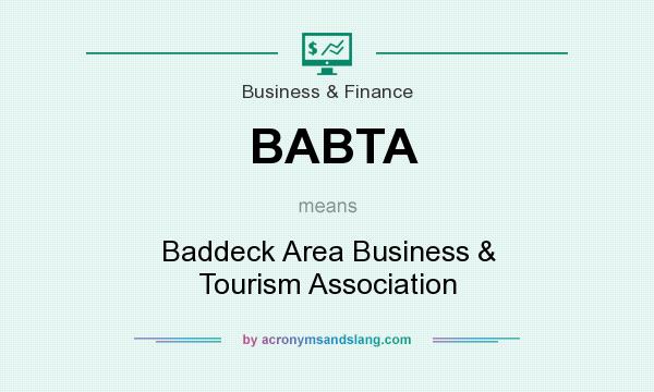 What does BABTA mean? It stands for Baddeck Area Business & Tourism Association