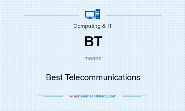 What does BT mean? It stands for Best Telecommunications