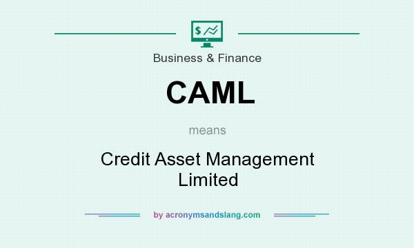 What does CAML mean? It stands for Credit Asset Management Limited
