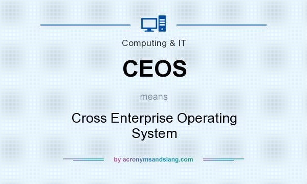 What does CEOS mean? It stands for Cross Enterprise Operating System